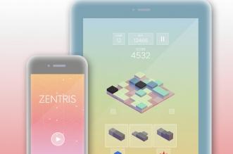 Jeu Zentris iPhone iPad