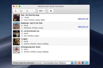 mediahuman audio converter macos mac gratuit