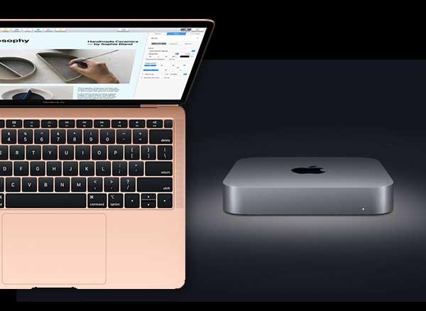 nouveaux mac mini pro macbook air 13 2018 touch id i7 5 - Nouveaux MacBook Air Retina / Touch ID et Mac Mini Pro (video)