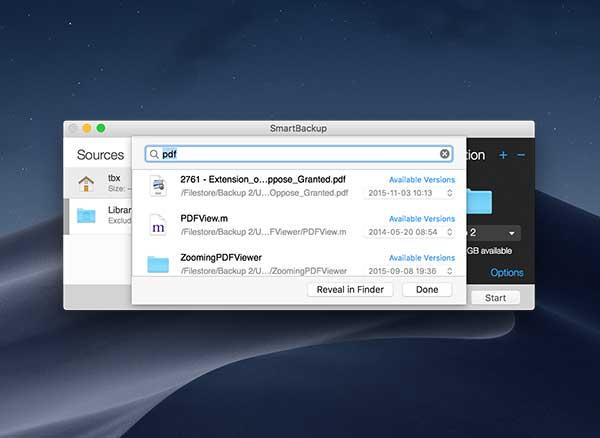 smartbackup macs mac gratuit