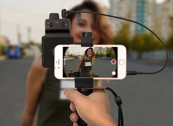smartcine video photo stabilisateur multifonctions iphone