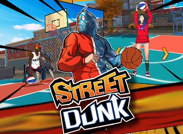 street dunk 3x3 basketball jeu iphone ipad