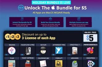 BundleHunt Pack Logiciels Mac Novembre 2018