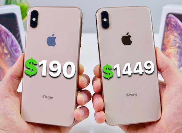 contrefacon iphone xs max copie chine