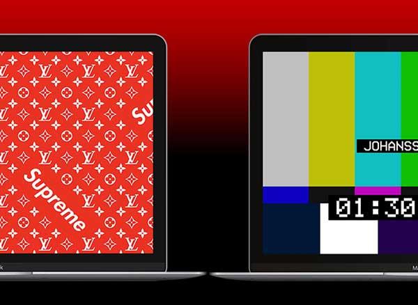 economiseurs ecran dynamiques macos mac gratuit