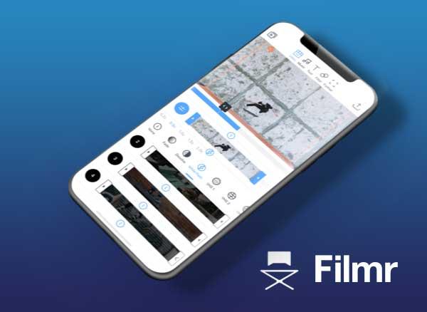 filmr vertical video editor iphone ipad - Filmr iPhone iPad - Montage et Effets Vidéo à la Verticale (gratuit)