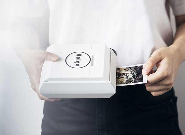 holga printer imprimante sans batterie smartphone iphone