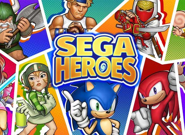 Jeu SEGA Heroes iPhone iPad