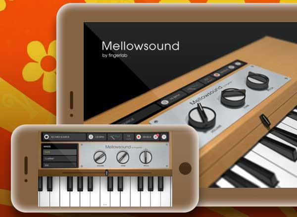 mellowsound fingerlab iphone ipad 1 - Mellowsound iPhone iPad - Le Légendaire Synthé des Beatles (gratuit)