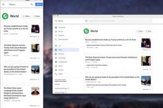 news headlines macos mac 1 331x219 - News Headlines Mac - Google Actualités dans Menu du Finder (gratuit)