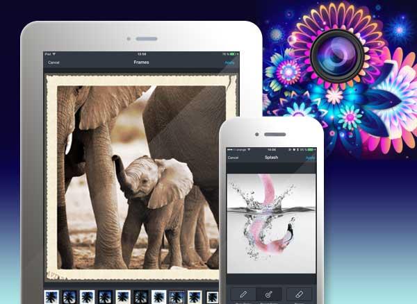 piclab express iphone ipad - PicLab Express iPhone iPad - Retouche Photo et Filtres Artistiques (gratuit)