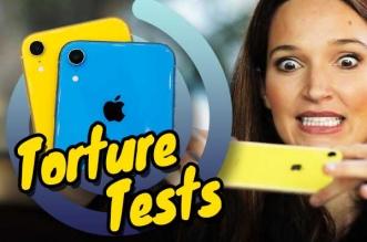 test resistance crash durabilite iphone xs video