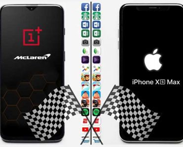 comparatif oneplus 6t mclaren iphone xs max video 1 370x297 - Le OnePlus 6T McLaren Doublé par l'iPhone XS Max (video)