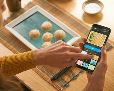 eatense assiette plat connecte iphone android 1 370x297 - Eatense, l'Assiette Connectée avec Ecran HD Intégré (video)