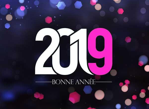 fond ecran bonne annee maxiapple 2019 3 - 101 Meilleurs Wallpapers 'Bonne Année 2019' Mac PC (gratuit)