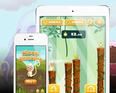 monkey jumping jeu iphone ipad 1 370x297 - Monkey Jumping iPhone iPad - Jeu de Plateforme à Couper le Souffle (gratuit)