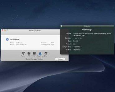 music converter macos mac 1 370x297 - Music Converter Mac - Convertir vos Musiques et créer des Sonneries iPhone (gratuit)
