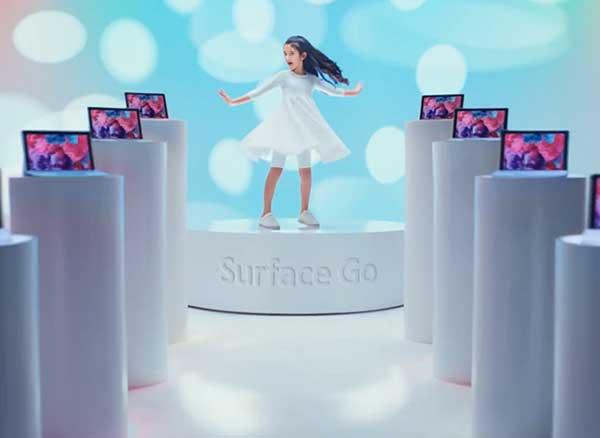 pub microsoft surface go noel 1 - L'iPad Pro pour les Enfants et la Surface Go pour les Grands (video)