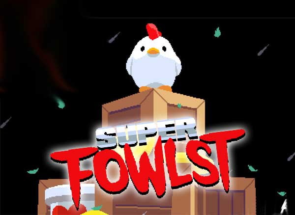 super fowlst jeu iphone ipad 1 - Super Fowlst iPhone iPad - Jeu de Plateforme qui a la Co-Cotte ! (gratuit)