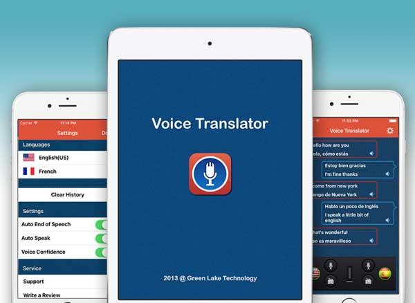 voice translator iphone ipad - Voice Translator iPhone iPad - Traducteur Vocal Multilingue (gratuit)