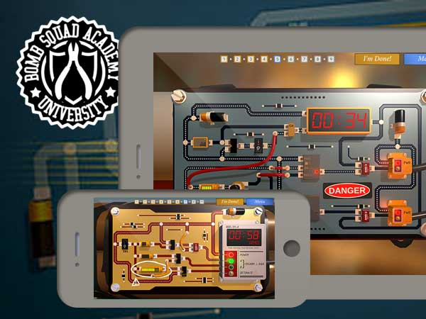 bomb squad academy jeu iphone ipad - Bomb Squad Academy iPhone iPad - Jeu de Puzzle Explosif (gratuit)