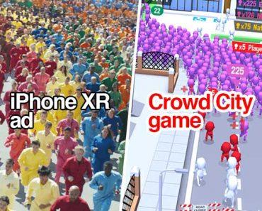 color flood pub campagne apple iphone xr maxiapple 370x297 - Apple Copie le Jeu Crowd City pour sa Pub iPhone XR (video)