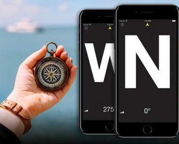 compasse boussole iphone ipad gratuit 370x297 - Compass° iPhone - Boussole de Précision 'Nord' Géographique (gratuit)