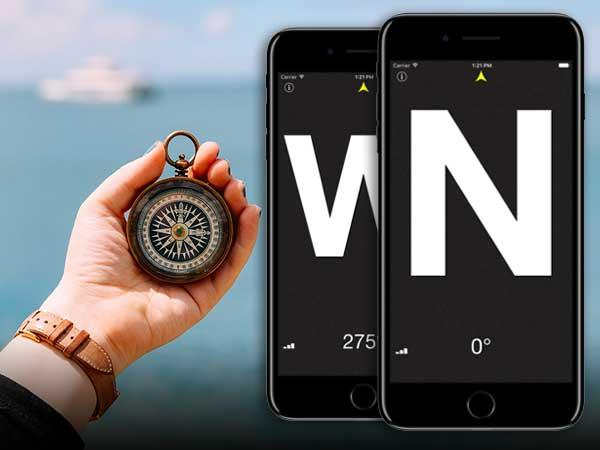 compasse boussole iphone ipad gratuit - Compass° iPhone - Boussole de Précision 'Nord' Géographique (gratuit)