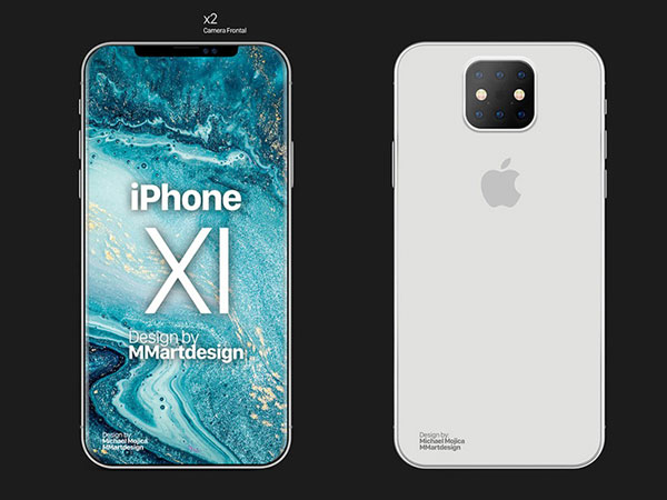 concept iphone 11 xi ben geskin 2019 1 - 3 Concepts d'iPhone 11 avec 3 APN Interchangeables (images)