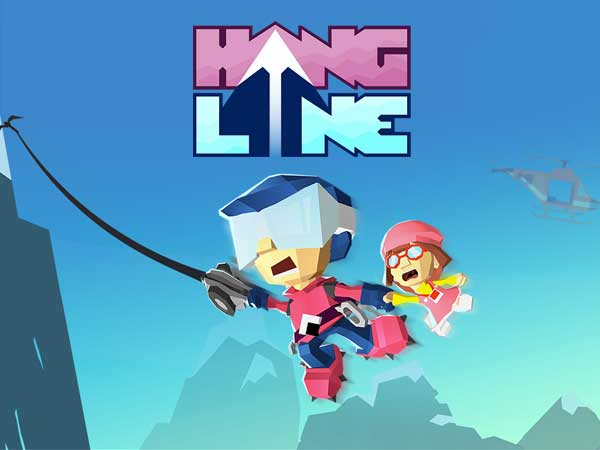 hang line adventure jeu iphone ipad 1 - Hang Line iPhone iPad - Jeu d'Escalade 3D à ne pas Manquer (gratuit)