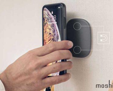 moshi snapto fixation magnetique coque iphone 2 370x297 - Coque Magnétique pour Fixer votre iPhone XR Partout (video)