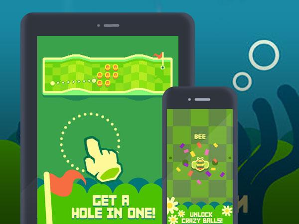 nano golf hole in one iphone ipad - Nano Golf iPhone iPad - Va vous Faire Oublier le Mini Golf (gratuit)