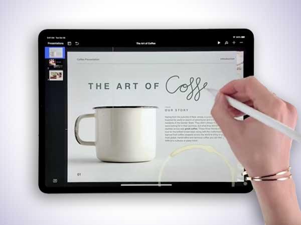 pub ipad pro stylet apple pencil 2018 2e generation vdeo - 5 Démos iPad Pro 2 pour Développer sa Créativité (video)