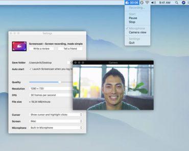 screencast screen recorder macos mac 370x297 - Screencast Mac - Capture d'Ecran Video dans le Menu Finder (gratuit)