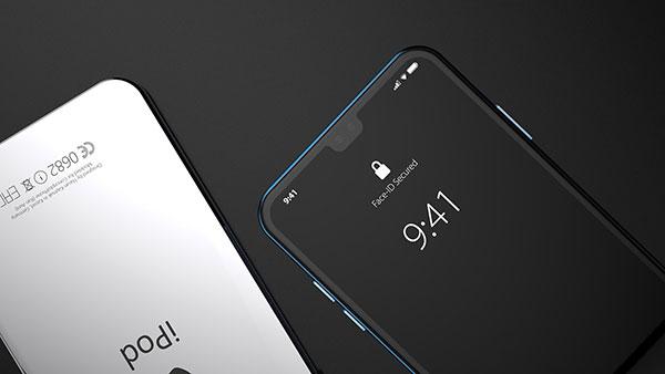 concept ipod touch 7 2019 hasan kaymak 5 - Le Prochain iPod Touch 2019 Dévoilé dans un Concept (video)