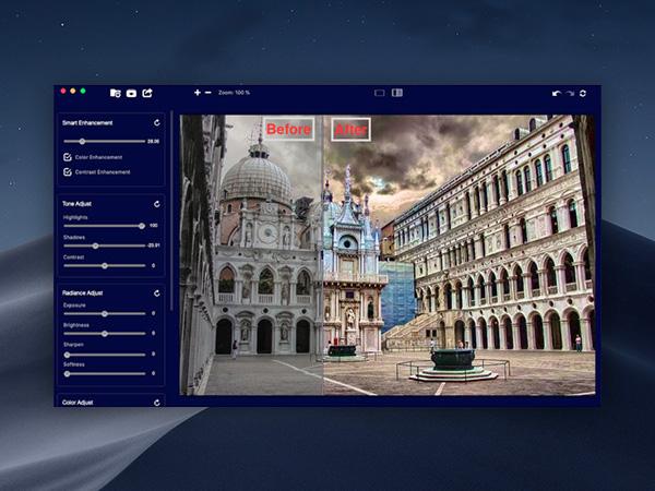 image enhance pro macos mac 1 - Image Enhance Pro Mac - Convertir vos Photos en HDR (gratuit)