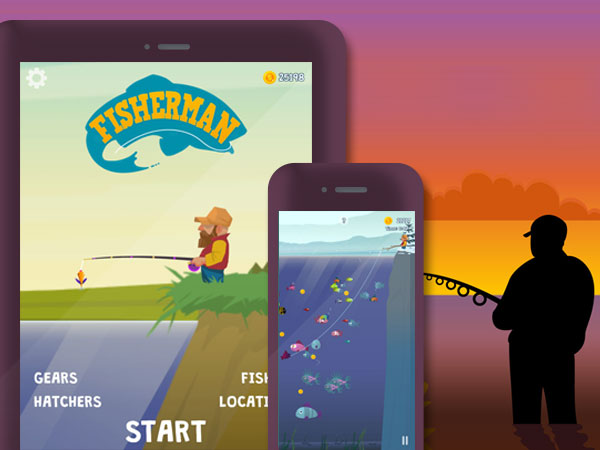 ketchapp fisherman jeu iphone ipad - Fisherman iPhone iPad - Simulation de Pêche à la Ligne (gratuit)