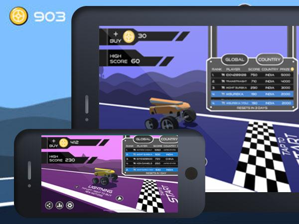 motor parkour jeu iphone ipad - Motor Parkour iPhone iPad - Jeu 3D de Parcours en Quad (gratuit)