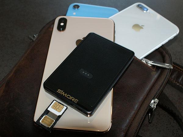 simore adaptateur plusieurs cartes sim multi 1 - Mettez 4 Cartes SIM dans l'iPhone XR avec cette Coque (video)