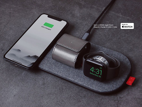 slicecharge pro chargeur qi iphone apple watch airpods 1 - Chargeur sans Fil pour iPhone XR, Apple Watch et AirPods (video)