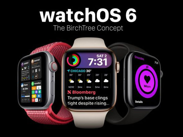 concept watchos 6 montre apple watch matt birchler 1 - Ce Concept WatchOS 6 Rend l'Apple Watch Formidable