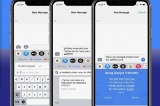 gboard iphone ipad gratuit 1 331x219 - GBoard iPhone iPad - Clavier Google Virtuel a son Traducteur (gratuit)