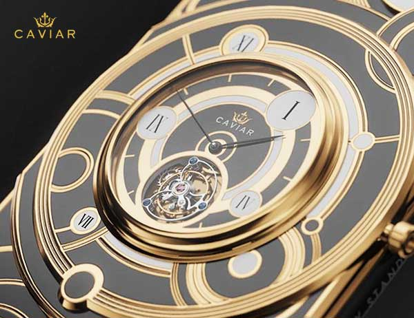 iphone xs montre grand complications tourbillon 2 - Caviar Met une Montre Tourbillon au dos de l'iPhone XS (video)