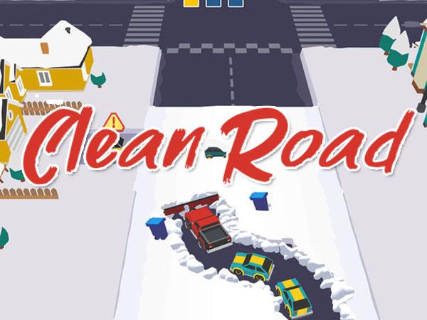 clean road jeu iphone ipad 1 - Clean Road iPhone iPad - Ouvrez la Route en Chasse-Neige (gratuit)