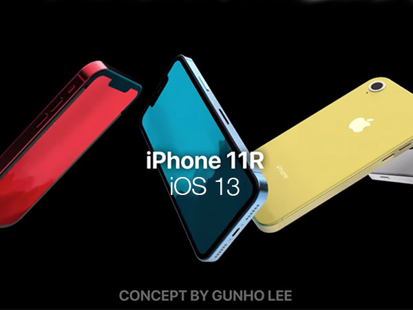 concept iphone xi 11 ios 13 video 1 - iPhone XI et iOS 13 dans un Concept Etonnant (video)