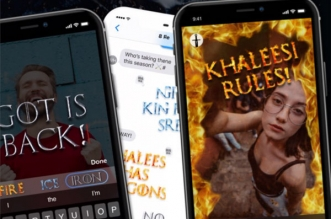 fontmoji game of fonts iphone ipad 1 331x219 - Game of Fonts iPhone iPad - Polices et Effets 'Game of Thrones' (gratuit)