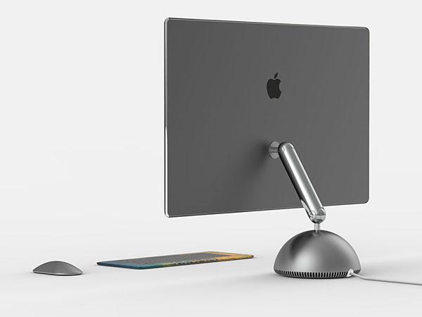 imac g4 boule tournesol concept 2019 3 - Retour de l'iMac Tournesol avec Ecran 27 Pouces (concept)