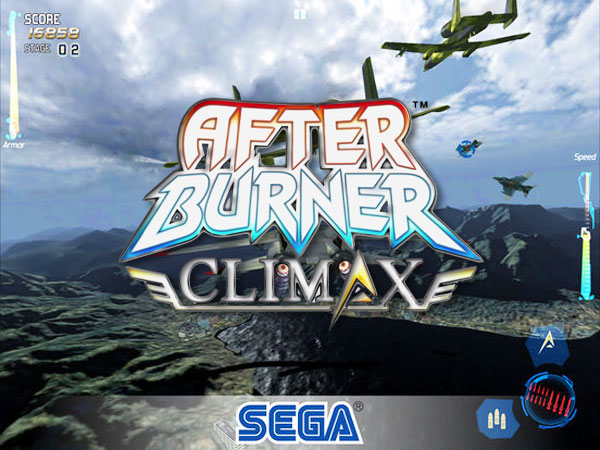 jeu sega after burner climax iphone ipad - After Burner Climax iPhone iPad - Simulations de Vol de Combat (gratuit)