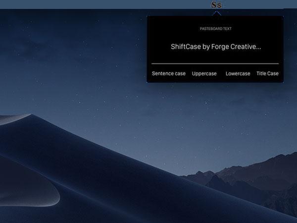shiftcase macos mac 1 - ShiftCase Mac - Supprimer la Mise en Forme des Textes (gratuit)