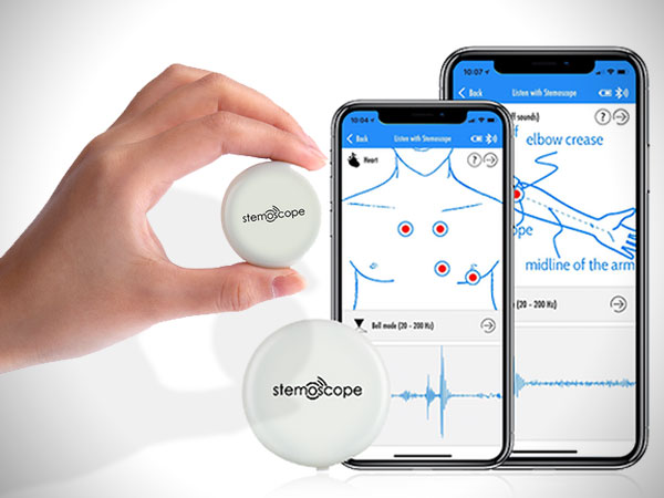 stemoscope stetoscope connecte iphone android 2 - Stemoscope, le Stéthoscope Connecté et Ludique (video)